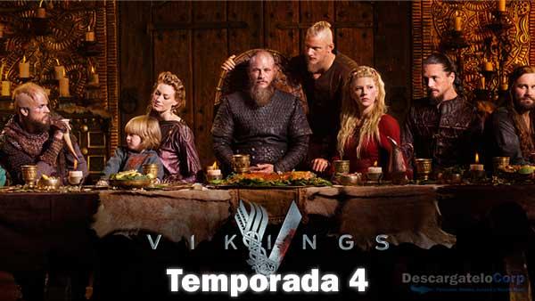 Vikingos Temporada 4 HD Español Latino