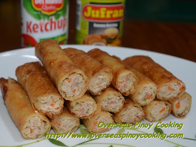 Fried Pork Lumpia Roll with Bacon - Recipe