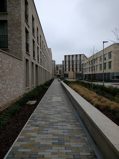 Psychogeography, Eddington, Cambridge, Cambridge University