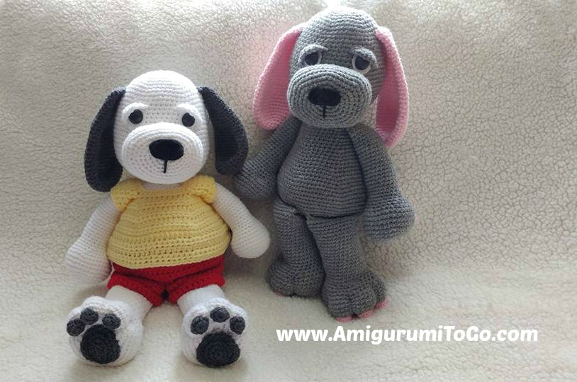 Cuddle Me Puppy Amigurumi To Go
