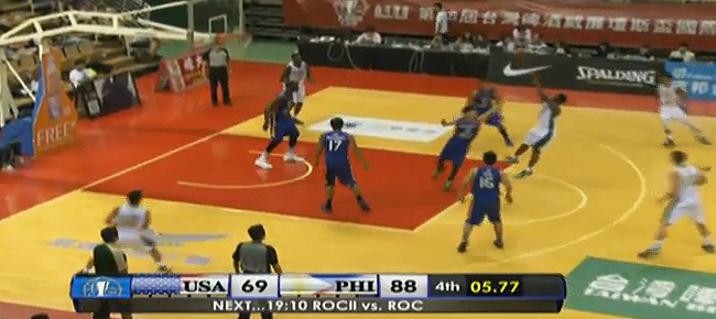 Mighty Sports Pilipinas def. USA-Sacramento State, 88-69 (REPLAY VIDEO) Jones Cup 2016