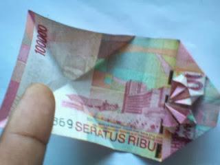 Seni kerajinan uang cantik_1
