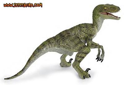 Papo Green Velociraptor