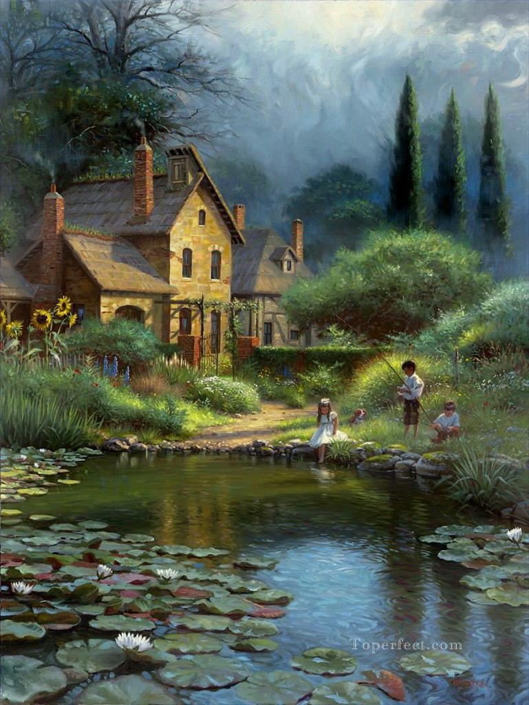 Beautiful paintings of landscapes art craft gift ideas for Beautiful painting designs