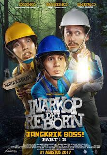 Sinopsis Warkop DKI Reborn: Boss Jangkrik Part 2 (2017) Pemain, Review, Trailer