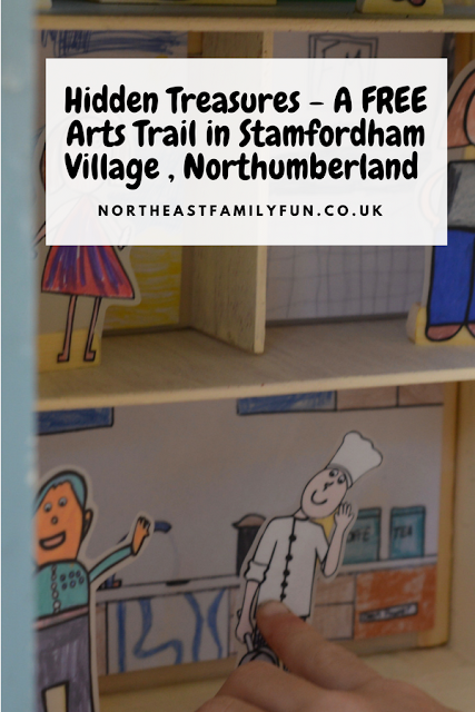 Hidden Treasures - A FREE Arts Trail in Stamfordham Village , Northumberland
