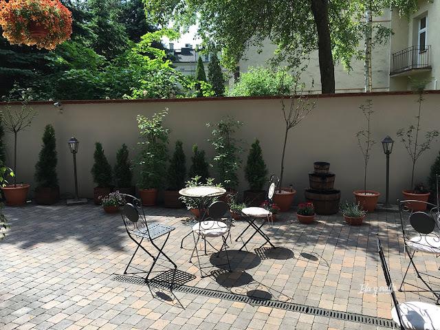 Topolowa Residence patio