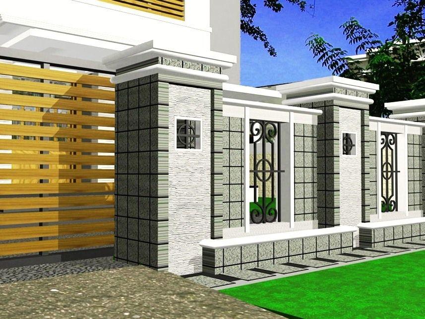 Kombinasi Warna Cat Pagar Tembok Rumah Minimalis