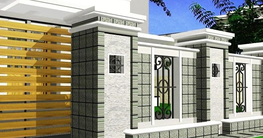 Kombinasi Warna Cat Gedung  kumpulan kombinasi warna cat gapura paling trend saat ini