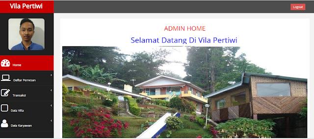 Program Pencatatan Penyewaan Villa
