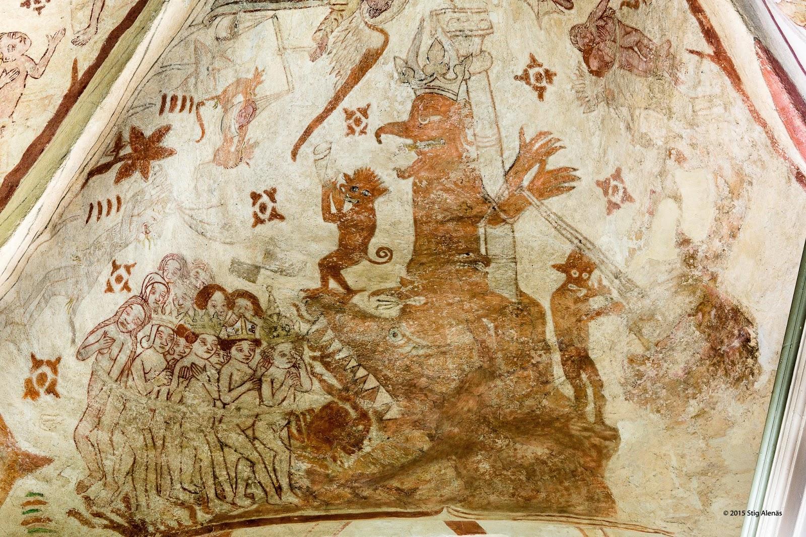 Bildresultat för helvetesgapet medeltid
