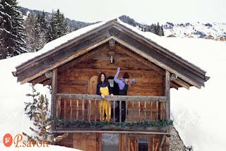 5 choses que vous devez faire avec une cabane en rondins en hiver