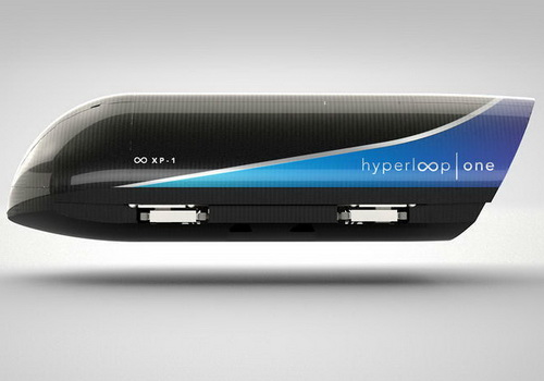 Tinuku Hyperloop One full-scale test at speed of 310 km h