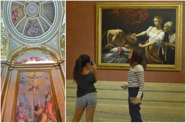 Palazzo Barberini en Roma – Judith y Holofernes de Caravaggio