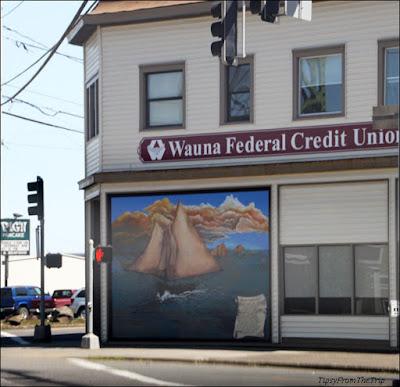 Mural, Astoria, OR.