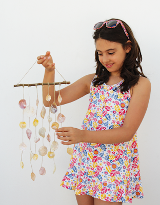 diy home decor, diy projects, do it yourself projects, diy, diy crafts, diy craft ideas, diy home, diy decor, wind chime, seashells