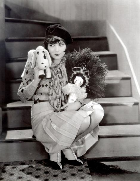 Clara Bow in a promotional photo for It 1927