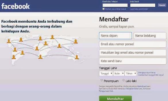 Cara Daftar Facebook Baru Dengan Sangat Mudah Tanpa Ribet Untuk Pemula