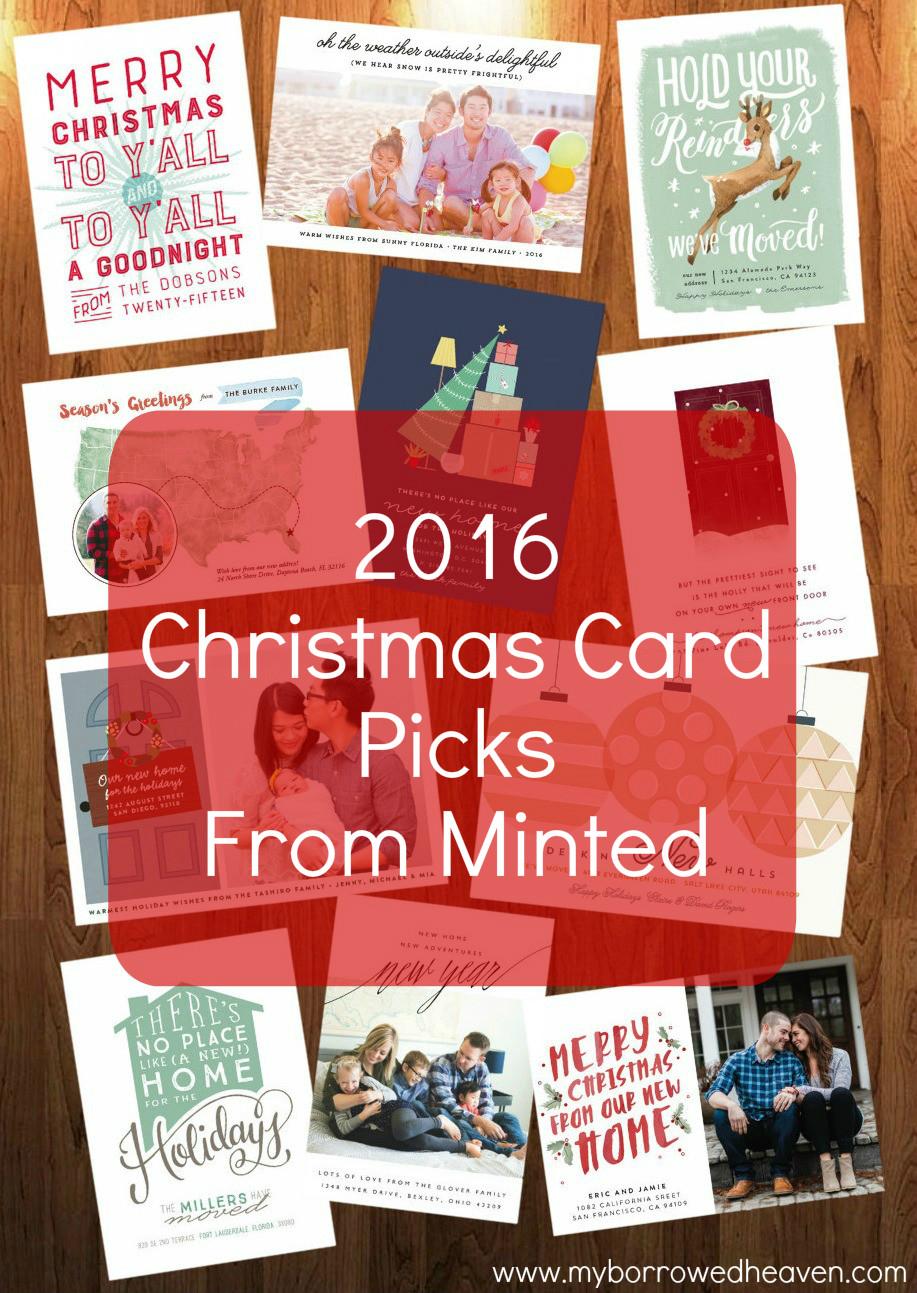 Borrowed Heaven Christmas Card Picks