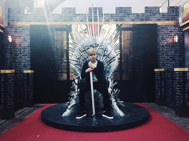 Evilbean Singapore Blogger - Iron Throne
