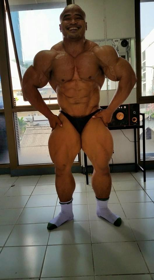 asian muscle worship