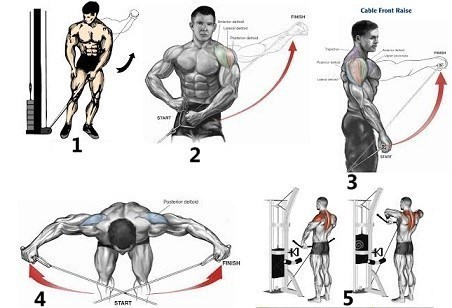 5 Cable Exercises to Build Boulder Shoulders