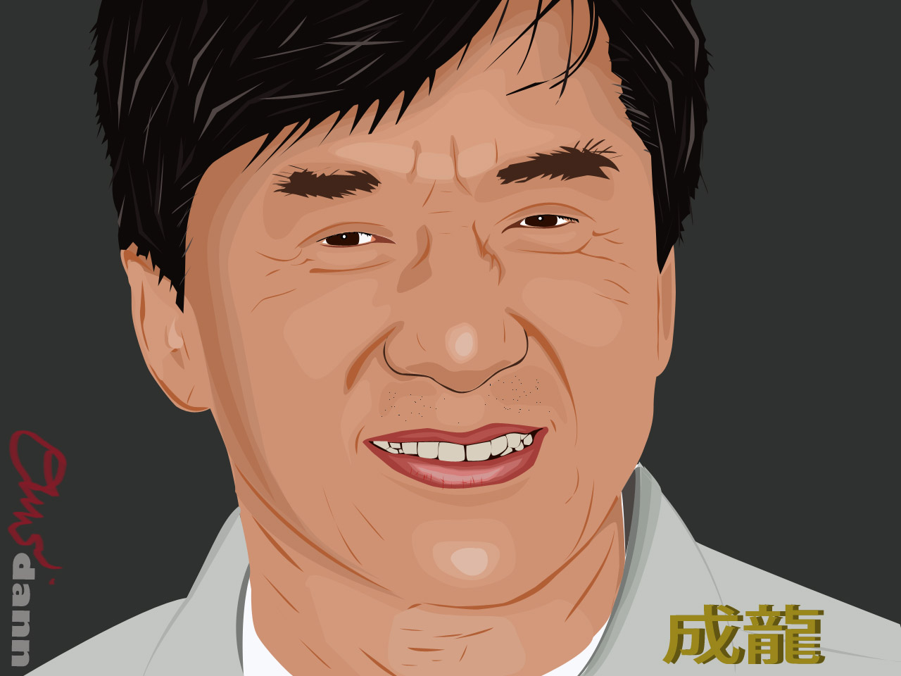Cartoon Pictures of Jackie Chan