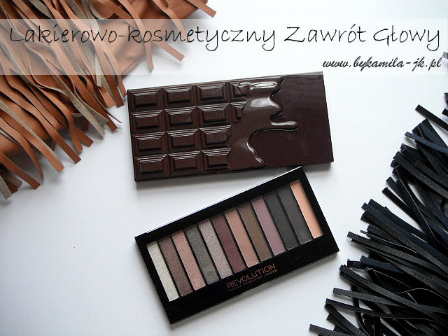 Palety cieni Makeup Revolution Death by Chocolate Romantic Smoked
