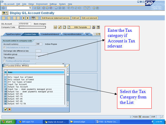 Free Sap Training Manuals T Code Fs00 Sap Fi Financial User Manual Gl Creation