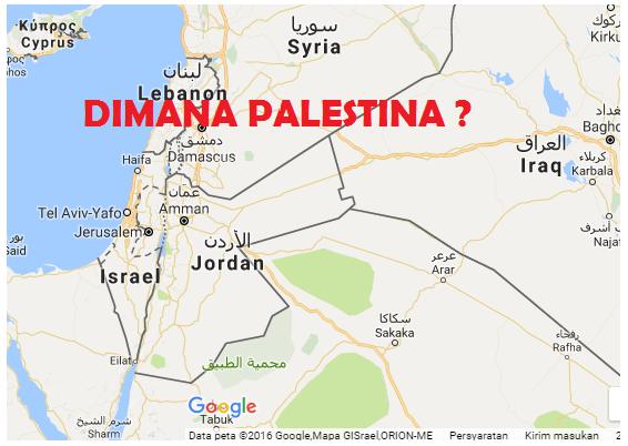 Ini Alasan Palestina Tak Ada di Google Maps