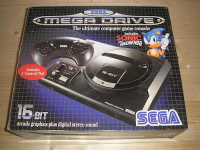 Pack Mega Drive y juego Sonic Europa