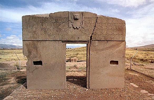 Calendar+Gate,+Tiahuanaco,+Bolivia
