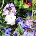 Zomer wallpaper met bloemen