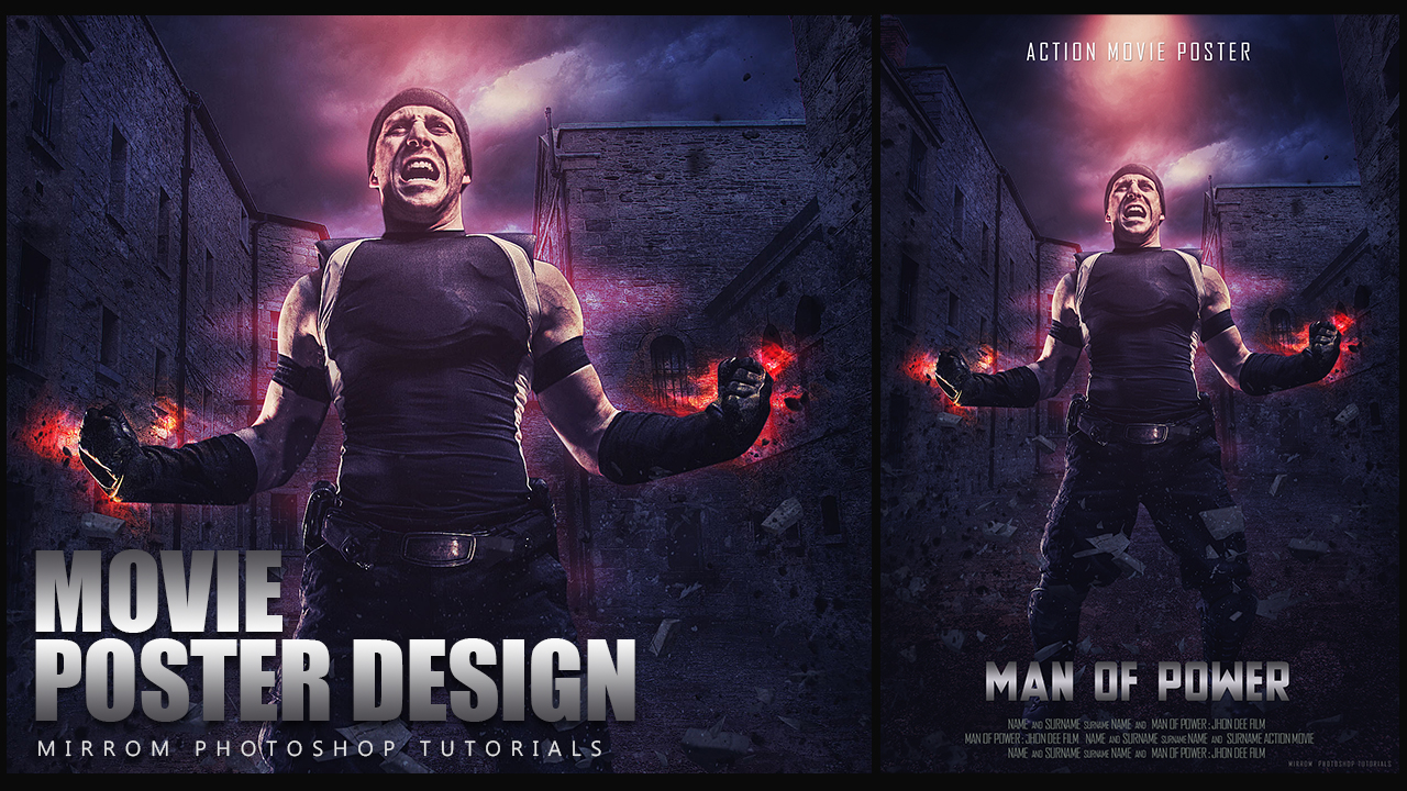Create a Dramatic Action Movie Poster In Photoshop CC