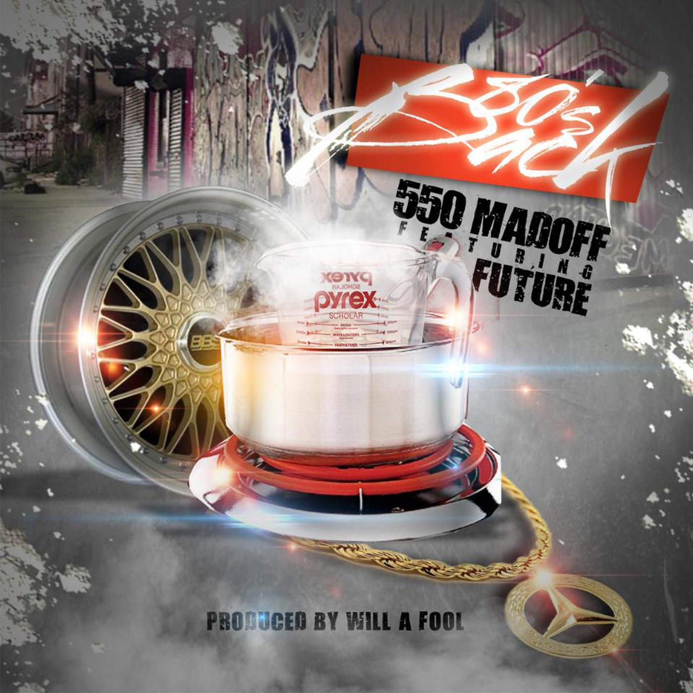 550 Madoff - 80's Back (feat. Future) - Single Cover