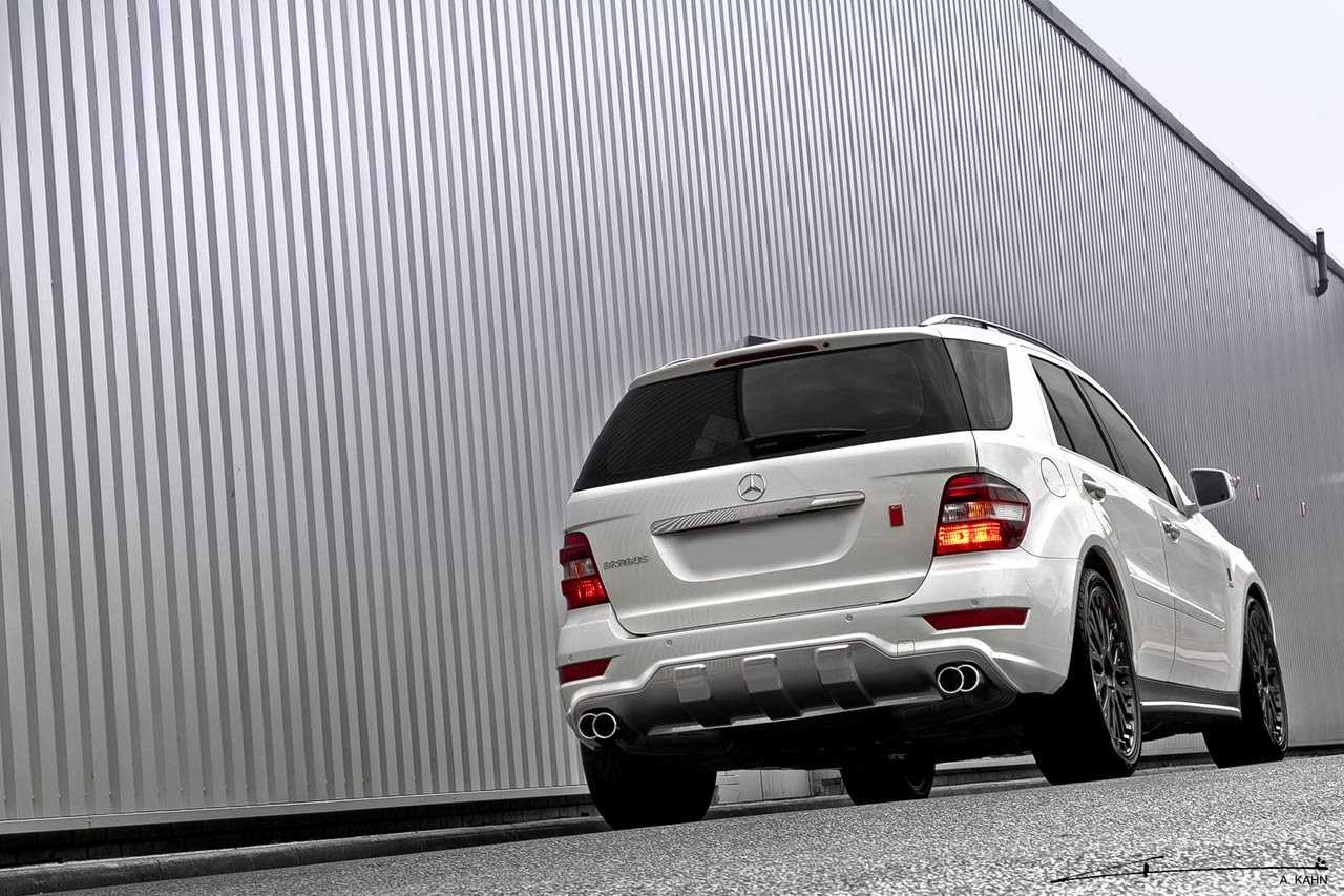 Mercedes-Benz W164 ML350 Kahn Design | BENZTUNING
