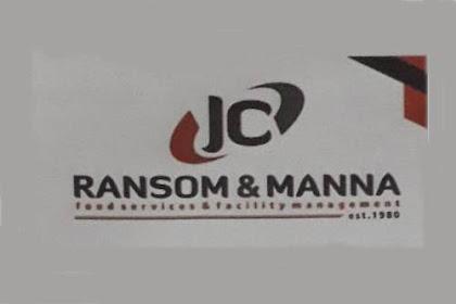 Lowongan JC Ransom & Manna Pekanbaru Oktober 2018