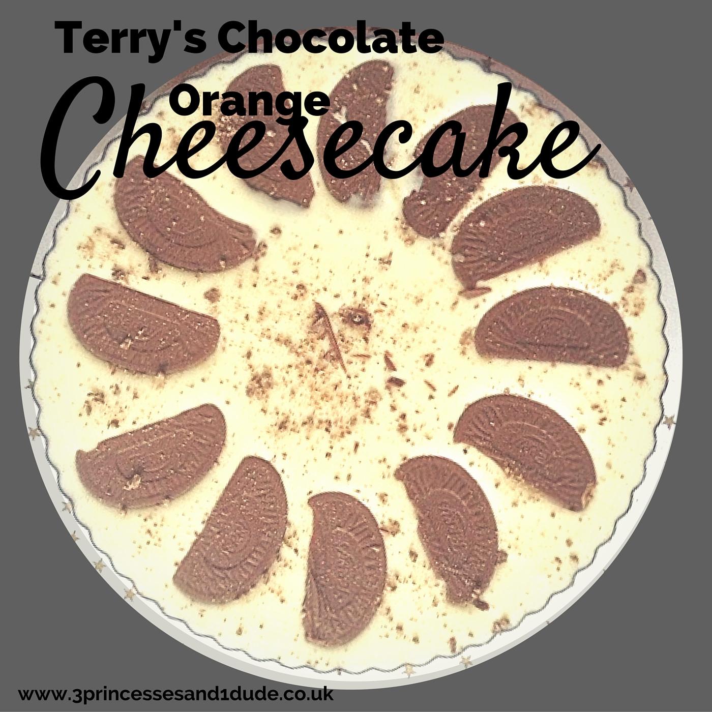 Christmas Cheesecake Ideas.3 Princesses And 1 Dude Terry S Chocolate Orange