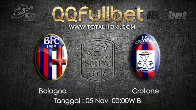 PREDIKSIBOLA - PREDIKSI TARUHAN BOLA BOLOGNA VS CROTONE 5 NOVEMBER 2017 (SERIE A)