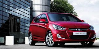 Tampilan Hyundai Grand Avega