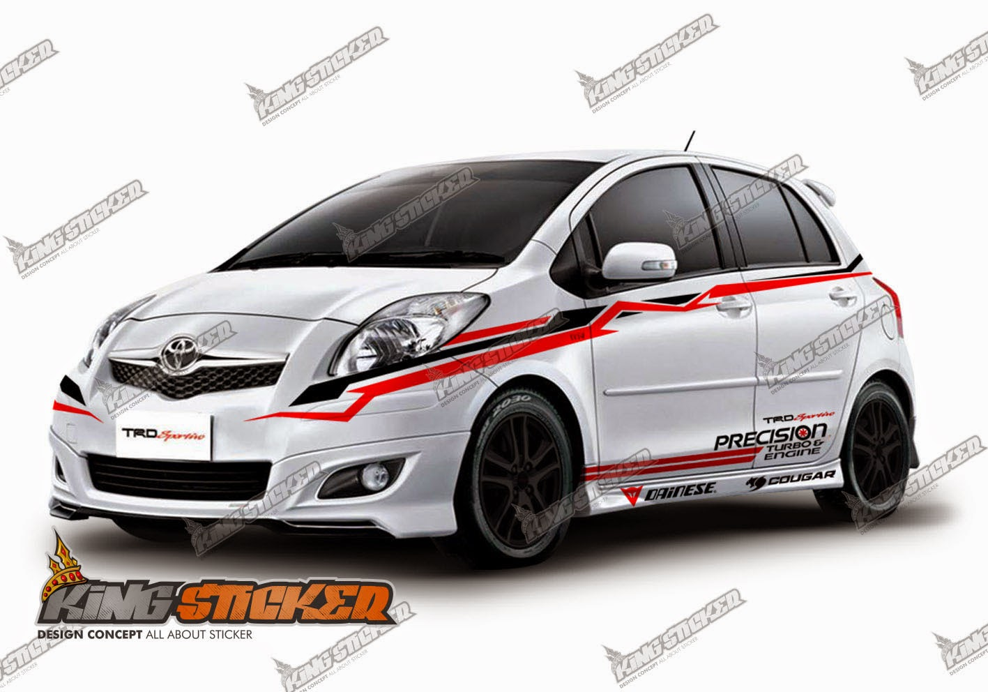 CUTTING STICKER TERMURAH : Cutting Sticker Mobil