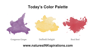 Today's Color Palette | 3rd Thursdays Blog Hop - January 2020 | Nature's INKspirations by Angie McKenzie