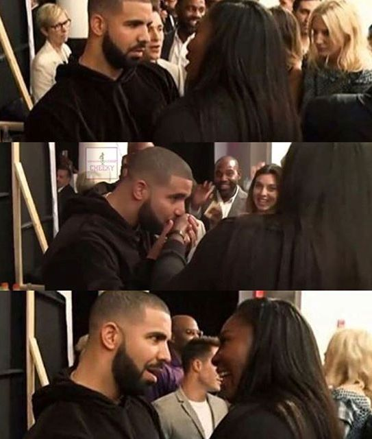 drake and serena williams in new york