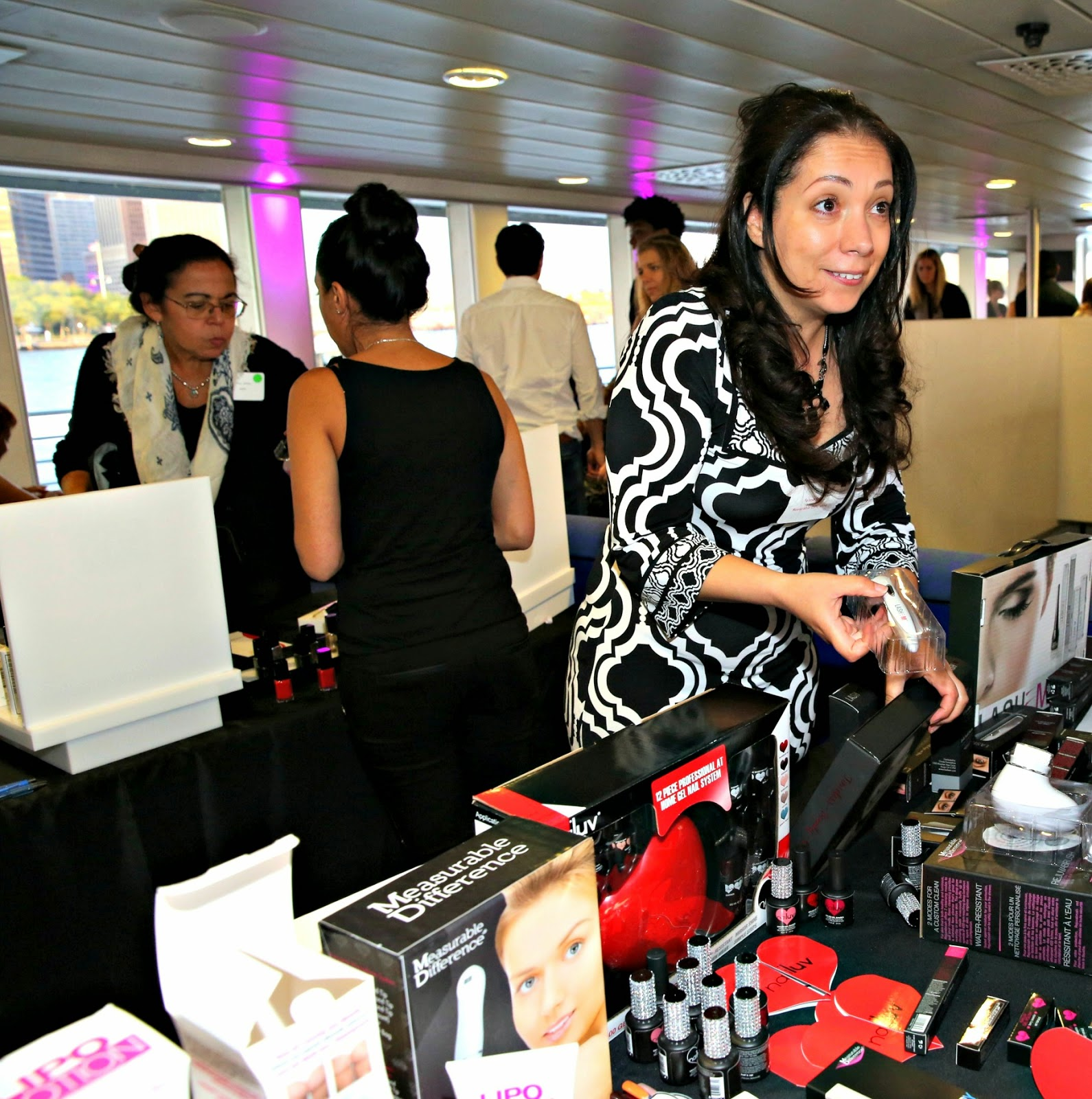 Measurable Differences on display at Beauty Press Spotlight Day aboard Zephyr Yacht