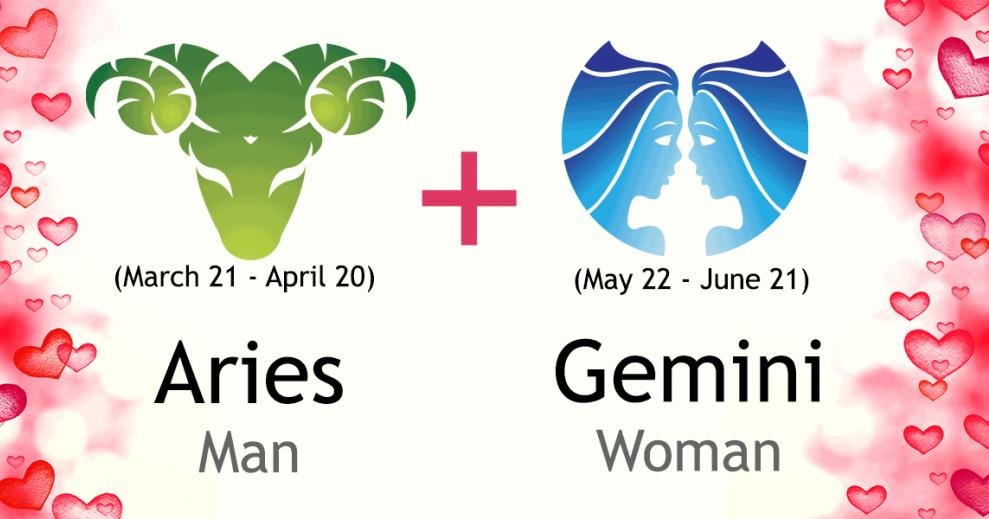 gemini and aries man