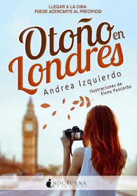OTOÑO EN LONDRES Andrea Izquierdo | Andreo Rowling  (Nocturna - Octubre 2016) PORTADA LIBRO