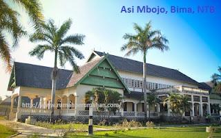 Desain Bentuk Rumah Adat Bima dan Penjelasannya, Asi Mbojo, Istana Kesultanan Bima