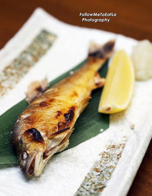 Japanese Ayu Shioyaki