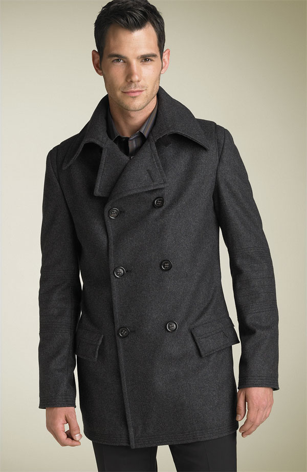 Men's Coats and Jackets. Bundle up in a brand new coat. Look for the freshest styles in men's outerwear and get great deals on this season's warmest in jackets and coats.