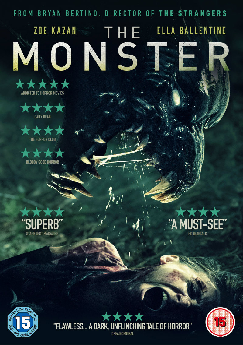 zoe kazan the monster dvd